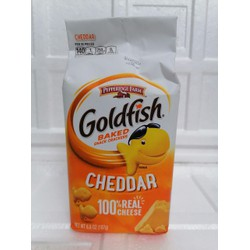 Bánh cá vị phô mai USA PEPPERIDGE FARM Goldfish Baked Snack Crackers Cheddar Cheese 187g