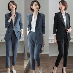 [cho xem hàng] bộ đồ vest công sở cao cấp