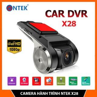 Camera Hành Trình NTek X28 FULL HD 1080P - Chuyên dùng cho Ô tô, xe hơi Sử dụng Màn hình Android - Camera hành Trình NTek X28 thumbnail