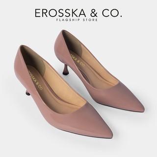 Giày cao gót Erosska thời trang nữ mũi nhọn kiểu dáng công sở cao 4cm màu hồng _ CP009 - CP009PI thumbnail