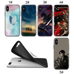 Ốp điện thoại in hình attack on titan 3 cho iphone 6 6s 6+ 6s+ 7 7+ 8 8+ x xs xr xs max - A1020