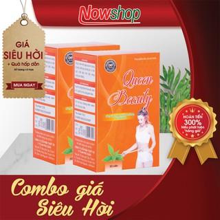 [Combo 2 Hộp] Viên uô ng gia m cân nhanh và an toàn từ thảo dược Queen Beauty - Sản phẩm đạt chuẩn GMP - CBGCQB23 thumbnail