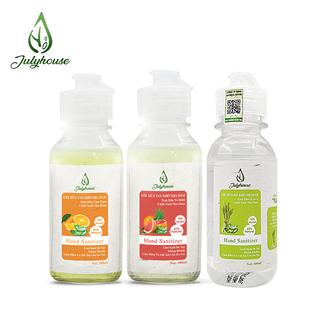 [Mùi tự chọn] Gel rửa tay khô tinh dầu thiên nhiên và Nha Đam 100ml JULYHOUSE - GEL thumbnail