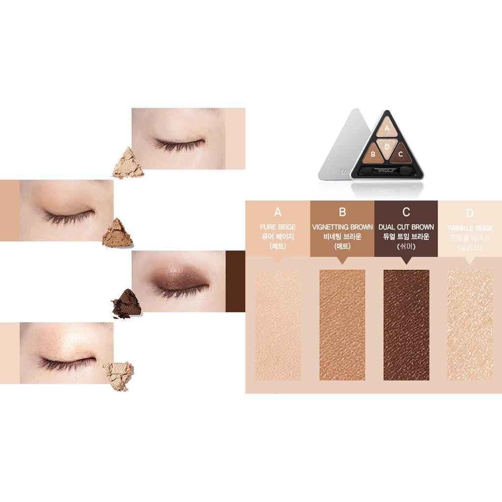 Bảng Phấn Mắt 4 Màu MAKEheal Hidden Triangle Palette 4g - 2880022332 8