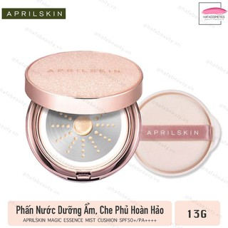 Phấn Nước Che Phủ Hoàn Hảo Cho Làn Da Mịn Màng AprilSkin Magic Essence Mist Cushion SPF50 PA 13g - 6659375735 1