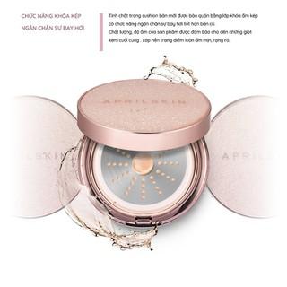 Phấn Nước Che Phủ Hoàn Hảo Cho Làn Da Mịn Màng AprilSkin Magic Essence Mist Cushion SPF50 PA 13g - 6659375735 6