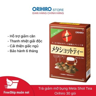 Trà giảm mỡ bụng Meta Shot Tea Orihiro 30 gói - Trà Orihiro - 1229_40775182 thumbnail