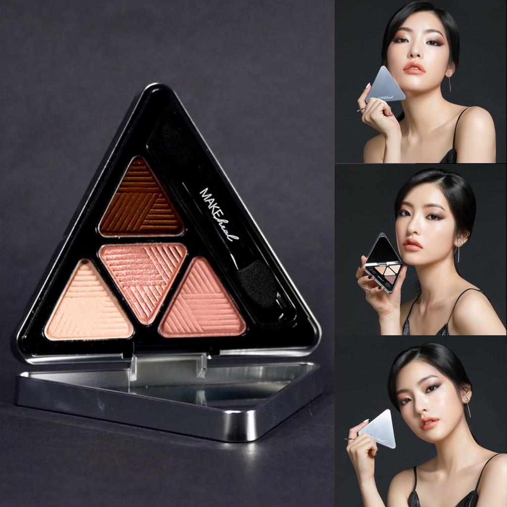 Bảng Phấn Mắt 4 Màu MAKEheal Hidden Triangle Palette 4g - 2880022332 1