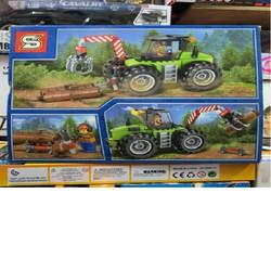 ĐỒ CHƠI GIÁNG SINH - Lego City Lìfe Xe Cẩu 6961 AP4070- Phát Triển Kỹ Năng