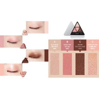 Bảng Phấn Mắt 4 Màu MAKEheal Hidden Triangle Palette 4g - 2880022332 7