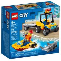 LEGO 60286 City - Xe Và Cano Cứu Hộ Biển