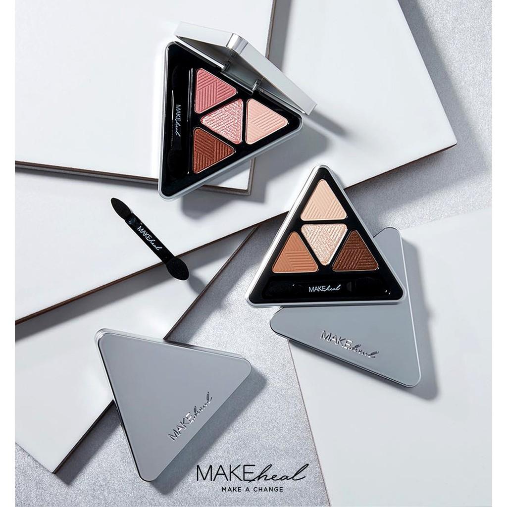 Bảng Phấn Mắt 4 Màu MAKEheal Hidden Triangle Palette 4g - 2880022332 5