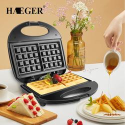 Máy làm bánh Waffle, Bông lan, nướng Bánh mì HAEGERR