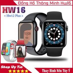 Đồng hồ thông minh Hw16 - Bản nâng cấp Hw12 , Thay được hình nền , màn hình IPS 1.72 siêu sắc nét , nghe gọi trực tiếp qua đồng hồ , chống nước , pin trâu 4-5 ngày