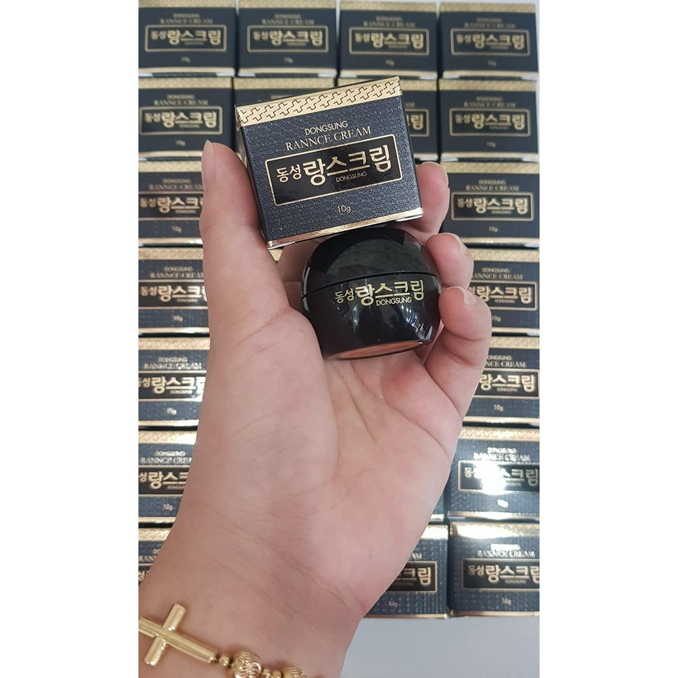 Kem Dưỡng Trắng Giảm Thâm m Dongsung Rannce Cream 10g - 2841142358 9