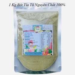 Bột Tía Tô 1 Kg có giấy VSATTP và ĐKKD nguyên chất thiên nhiên 100% dùng để đắp mặt đa công dụng