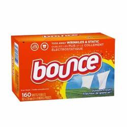 Giấy thơm quần áo Bounce hộp  160 tờ của Mỹ