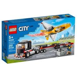 LEGO 60289 City - Xe Vận Chuyển Máy Bay Phản Lực