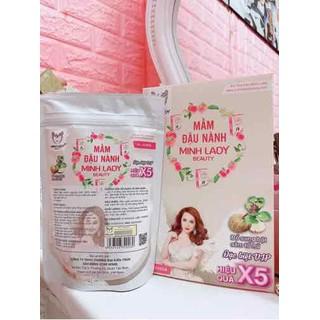 Mua 1 tặng 5 COMBO 10 MẦM ĐẬU NÀNH Nguyên Sơ Minh Lady Beauty tặng 3 sẻum 1 nước hoa 380k 1 kẹo mầm - 0004 thumbnail