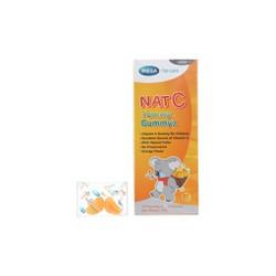 Keo dẻo Nat C Yummy Gummyz hộp 25 viên