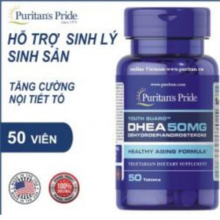 TPCN tăng cường nội tiết tố, hỗ trợ chức năng sinh sản nữ DHEA 50mg Puritan s Pride Mỹ - 5031 thumbnail