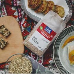 Hạt Kiều Mạch Hữu Cơ 500g Sottolestelle Organic Buckwheat - Gói Nguyên 500g