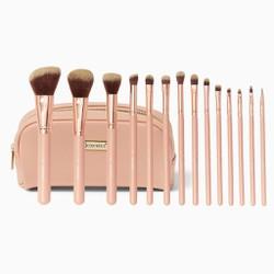 Bộ cọ BH Cosmetics BH Chic - 14 Piece Brush Set with Cosmetic Case (Bill USA)