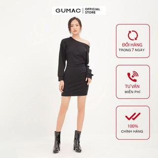 Đầm tay dơi bẹt vai GUMAC DA1291 - DA1291 thumbnail