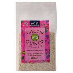 Diêm mạch nguyên cám hữu cơ cán dẹp Sotto 400g Organic Quinoa Flakes - Gói 400g