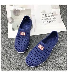 Giày lười nhựa dẻo thoáng khí dành cho nam nữ - nhuann thumbnail