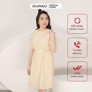 Đầm oversize xếp vai GUMAC DA964 - DA964 thumbnail