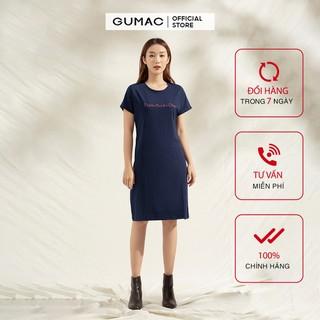 Đầm thun thiết kế tay dơi chất thun TC GUMAC DA1127 - DA1127 thumbnail