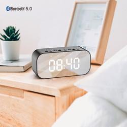 Loa Bluetooth ROBOT RB550 Âm Thanh Tuyệt Vời Kiêm Đồng Hồ Báo Thức Màn Hình Hiển Thị LED - BẢO HÀNH 1 ĐỔI 1 12 THÁNG [ĐƯỢC KIỂM HÀNG]