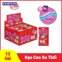 Kẹo Cao Su Thổi Big Babol Fili Folly Hương Dâu (Hộp 12 gói)