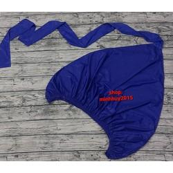 (tặng dây sỏ)  Áo trùm - Túi bạt miệng 1m7, có đuôi 2.5m vệ sinh bảo dưỡng điều hoà - máy lạnh - kdxanhbich008
