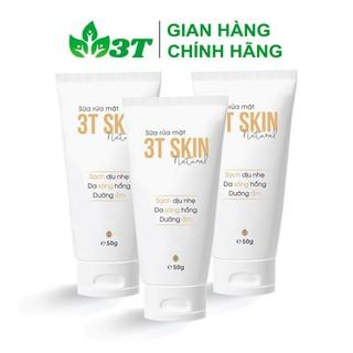 Combo 3 Sữa Rửa Mặt 3T Skin Sạch Dịu Nhẹ, Da Sáng Mịn, Dưỡng Ẩm - SR3TSKINSC03 thumbnail
