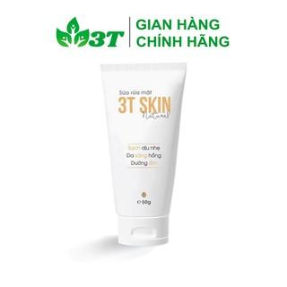Sữa Rửa Mặt Thiên Nhiên 3T Skin Sạch Dịu Nhẹ, Da Sáng Mịn, Dưỡng Ẩm - SR3TSKINSS01 thumbnail