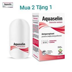 Combo 3 chai Lăn Khử mùi Aquselin dành cho nữ 2 TẶNG 1
