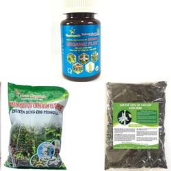 Combo 3 sản phẩm phân bón hữu cơ vi sinh chăm sóc hoa phong lan của Kiên Trần.