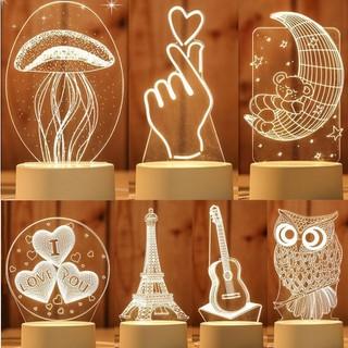 Đèn Ngủ 3D nhiều hình siêu chuẩn, ngẫu nhiên - DN0050 thumbnail