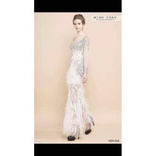 Thanh lý váy dạ hội váy cưới size S - vc1 thumbnail