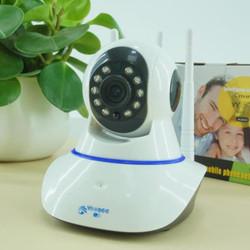 Camera giám sát yoosee wifi 3 râu 2.0 - Camer wifi có  hỗ trợ tiếng việt,  Kèm thẻ nhớ JVJ  PRO chuyên dụng cho camera