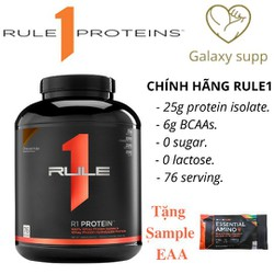 WHEY RULE 1 PROTEIN 100% ISOLATE 76 LIỀU DÙNG