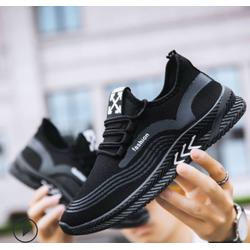 Giày Sneaker Thể Thao Nam fashion phối hình cánh mũi tên
