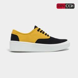 Giày Sneaker Nam/Nữ Dincox D23 Black/Yellow