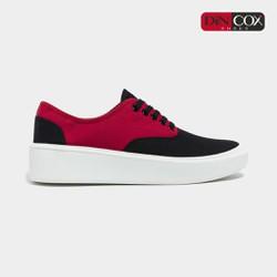 Giày Sneaker Nam/Nữ Dincox D23 Black/Red