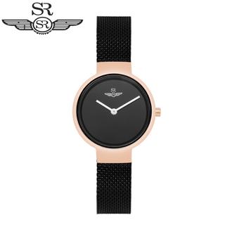 Đồng hồ nữ SR Watch SL5521.1301 Mặt Kính Sapphire Dây Lụa Cao Cấp Chính Hãng - SL5521.1301 thumbnail