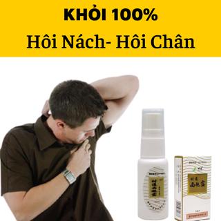 [COMBO 3 Hộp] Xịt Khử Mùi Hôi Nách Hôi Chân Nội Địa Trung- Khỏi 100%- Xịt Khử Mùi Hôi Nách Hôi Chân Nội Địa Trung - KIBGBACK221 thumbnail