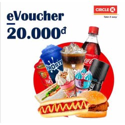 Toàn Quốc [E-Voucher] E-Voucher Circle K 20.000đ áp dụng tất cả các chi nhánh toàn quốc