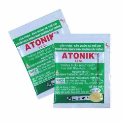 Combo 2sp ATONIX Phân bón cao cấp kích thích sinh trưởng cho hoa Lan và các loại cây trồng khác